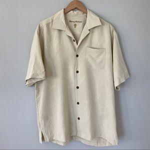 Tommy Bahama 100% Silk Button Shirt